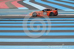 Racing Through The Blue Lines Editorial Stock Image - Image of ginetta, track: 56938684 Circuit Paul Ricard, Blue Lines, Stock Image, France, Vectors, Images, Editorial, Racing, Sign