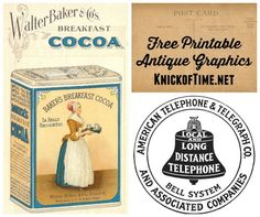 Welcome to KnickofTime.net - your resource for FREE Antique Graphics and Photos, Vintage Images and Ephemera, and Royalty Free Clip Art!