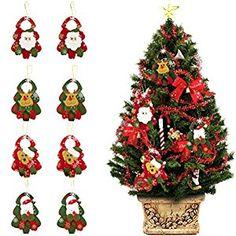 Festival Party Supplies Christmas Wall Decoration Snowflake Santa Claus Sled Xmas Ornament New Year Pendant Good Taste Diamond
