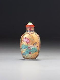 LuxArtAsia: Auction - strong results for snuff bottles at Bohnams