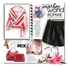 """""""Mix and Match with Romwe"""" by danijela-3 ❤ liked on Polyvore featuring Zimmermann and Avon"""