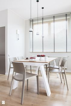 JODŁA /_\ MINIMALIZM UDOMOWIONY - zdjęcie od KASIA ORWAT home design - Jadalnia - Styl Minimalistyczny - KASIA ORWAT home design