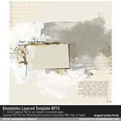 Blendables+Layered+Template+No.+75