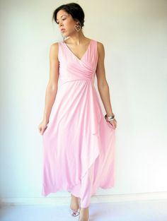 Hey, I found this really awesome Etsy listing at http://www.etsy.com/listing/111612313/vintage-70s-blush-pink-draped-goddess