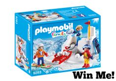 Fun Winter Themed Playsets from Playmobil #GIVEAWAY - Naturally Cracked