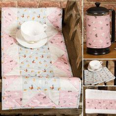 FREE Lewis & Irene Small Things on the Farm kitchen accessories Pattern for quilting