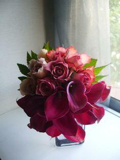 arums, rose