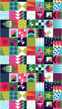 Wrap abstract 100% cotton fabric 1605-1