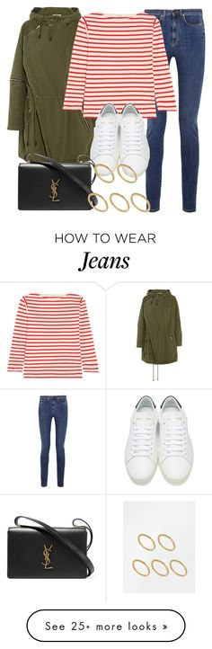 """""""Style #11570"""" by vany-alvarado on Polyvore featuring Yves Saint Laurent and Made"""