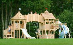 Прекрасный детский городок, который подарит кучу радости и эмоций вашим детям