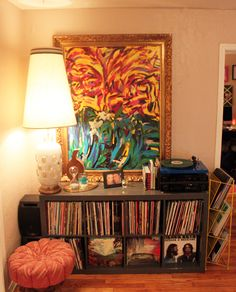Perfection. Especially because of the Tame Impala record on display
