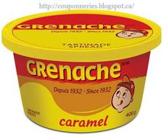 I loved this stuff Online Shopping Canada, Coffee Cans, Coupons, Caramel, Sweet, Food, Memories, Group, Projects