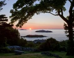 Marblehead on North Shore, Massachusetts (For a mere $6 million this view could be yours.)