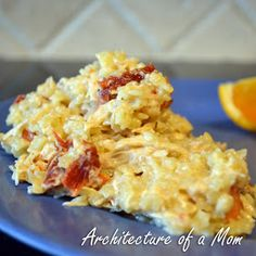 Architecture of a Mom: Quick Parmesan Pasta with Chicken