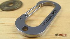 Silver Stainless Steel Lucky Number Key Chain (ZERO) / leismore selected #leismore