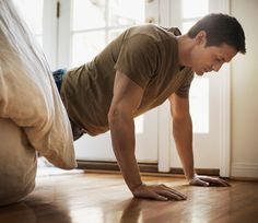 10 At-Home Workouts to Build Muscle in Under 20 Minutes - See more at: http://www.mensfitness.com/training/workout-routines/10-home-workouts-build-muscle-under-20-minutes/slide/1#sthash.ij0UQ120.dpuf Fitness Tips, Fitness Quotes, Fitness Motivation, Health Fitness, Gym Fitness, Muscle Fitness, Fitness Models, Weight Training Equipment, Gym Training