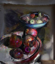 lv- composizione con frutta