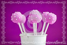 Why not pick up these lovely purple cake pops for your flower girl? #PurpleWeddingCake
