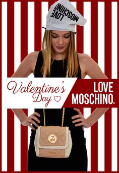 Un... amore di borsa!  http://bit.ly/1nzAdyB   Love #Moschino MOSCHINO - the official page #ss16 #FreeShipping