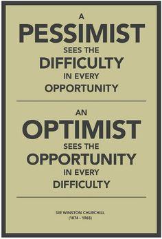 A Pessimist