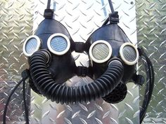 Gas Masks | 21 Unconventional Things People Have Used To Make Bras