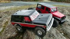 Trx-4 Ford Bronco Hobby Shop to Scale Run