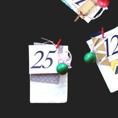 Maria Lacuesta - Crate Paper Design Team - DIY Advent Calendar