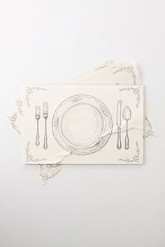"""~ haverford house ~: Fork, knife and spoon  I could make a similar thing with some printables from graphics fairy site (see my category """"printables"""")"""