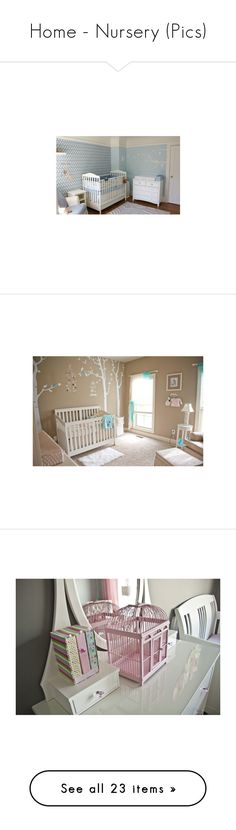 """""""Home - Nursery (Pics)"""" by giovanna1995 ❤ liked on Polyvore featuring home, children's room, nursery, baby, house, rooms, bedrooms, children's decor, baby room and nurseries"""