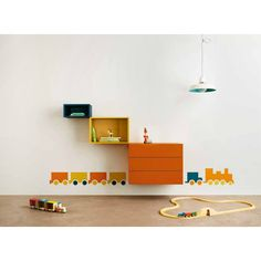 Your child's bedroom is full of imagination with the LAGO storage compositions. Ready to buy on >> http://www.malfattistore.it/en/product/36e8-storage-0294/ | #malfattistore #shoponline #interiordesign #compositionreadytobuy #kids #kidsdesign #onlinedesignstore