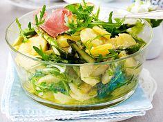 Kartoffel-Spargelsalat mit Walnuss-Dressing Rezept   LECKER