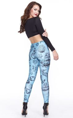e48e845013e 542 Best Leggings images in 2016 | Print Leggings, Printed leggings ...
