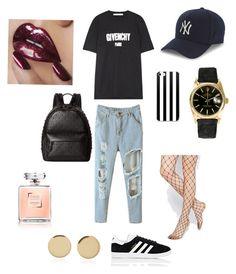 """Sans titre #57"" by ness-11 on Polyvore featuring mode, Givenchy, adidas, Coach, ASOS, New Era, Rolex et Magdalena Frackowiak"