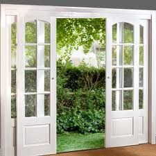 Sliding French Doors....our den to replace old bow window?