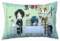Kuroshitsuji Pillow KUPW8656 | 123COSPLAY | Anime Merchandise Shop Free Shipping From China | Anime Wholesale