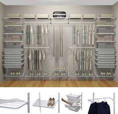 4º Passo: Determine o que é importante ter em seu closet, qual o modelo ideal e quais acabamentos usar. | Clique Arquitetura | Seu portal de Ideias e Soluções