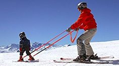 Amazon.com : CoPilot Ski Trainer Learn-to-Ski Harness to Teach Kids to Ski : Alpine Skis : Sports & Outdoors