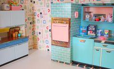 kitchen side unit detail