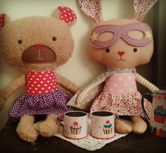 You are my cup of tea! #lalobastudio #etsy #teaparty #tea #teddybear #bunny #friendship #superhero #rabbit #love #cute #cutenessoverload #kidsgift #kidsfashion #dolls #easter #kids #ig_kids #cutekidsclub #coolmom #mama #bunnystagram #dollsanddaydreams #handmade