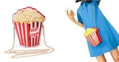 [TOPITRUC] Un sac à main pop corn Pop Corn, Top, Shopping, Fashion, Hands, Moda, Fashion Styles, Fashion Illustrations, Crop Shirt