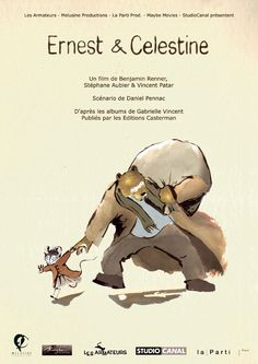 Ernest & Celestine (French: Ernest et Célestine) is a 2012 French-Belgian animated film directed by Stéphane Aubier, Vincent Patar and Benja. Rent Movies, All Movies, Movies To Watch, Ernest Et Celestine, The Secret Of Kells, Life Of Crime, Movies Worth Watching, Upcoming Movies, Animation Film