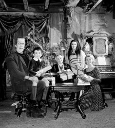 The Munsters Christmas, 1964.