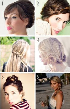6 Braid Tutorials from around the web!