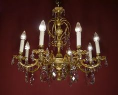 Kronleuchter Antik Bronze ~ Sac a perle kronleuchter antik alte lampen kronleuchter on