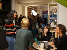 #coworkingparty : crémaillère #myCowork hier soir à #Montorgueil ! #coworking