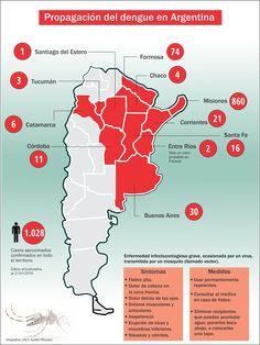 mapa de propagacin del dengue en argentina diario argentino