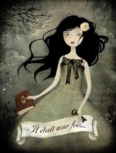 print by Anne-Julie Aubry (The Nefarious Kingdom - etsy)  Another awesome print. I likey!
