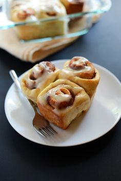 World's Easiest Cinnamon Rolls http://minimalistbaker.com/the-worlds-easiest-cinnamon-rolls/