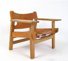 Køb og sælg sofaer - stofsofa, lædersofa, dansk design - Børge Mogensen, armstol Spansk stol, model 2226, fremstillet hos Fredericia Stolefabrik - DE, Düsseldorf, Kappeler Straße