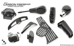 Other Accessories Available In Different Finishes, Including Carbon Fiber Pedals. -  - Aluminum Pedal Set  - Photo #22